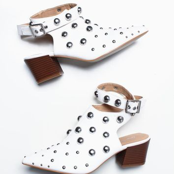 Square Studded Bootie
