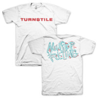 "Turnstile ""Nonstop Feeling"" White T-Shirt"