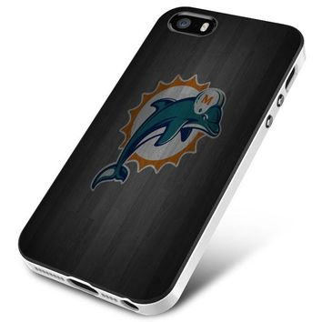 Miami Dolphins (wood) iPhone 5 | 5S | 5SE Case Planetscase.com