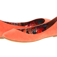 Madden Girl Harmonee Coral Fabric - Zappos.com Free Shipping BOTH Ways