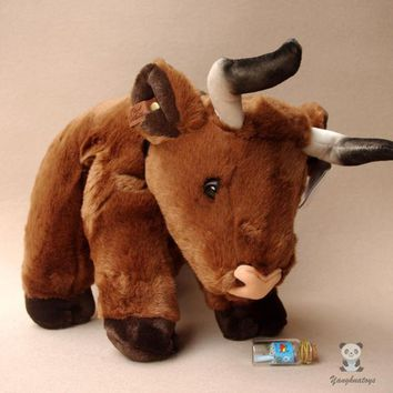 Cute Cattle Stuffed Animal Plush Toy 12""