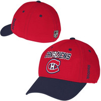 Montreal Canadiens Reebok Second Season Flex Hat – Red