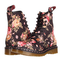 Dr. Martens 1460 W Black Victorian Flowers - Zappos.com Free Shipping BOTH Ways
