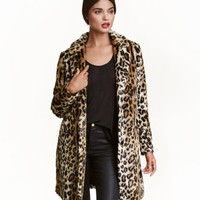 H&M Faux Fur Coat $129