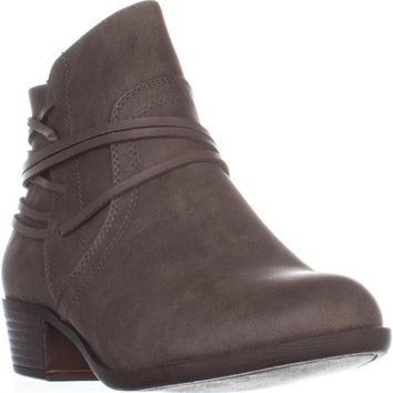 madden girl Become Casual Ankle Boots, Stone, 6.5 US
