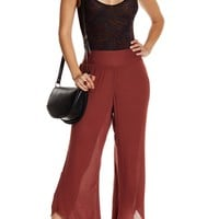 Free People | Asymmetrical Solid Flare Pant | Nordstrom Rack