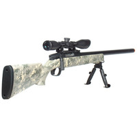 Leapers Gen 5 Accushot Comp Sniper Airsoft Rifle Army Dig
