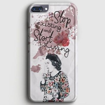 Harry Styles 1D Illustration iPhone 7 Plus Case | casescraft