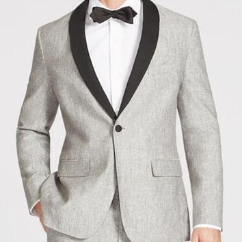 The Capstone Slim - Grey Linen Tuxedo