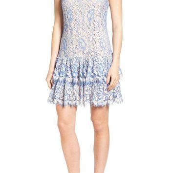 Eliza J | Ruffle Lace Dress | Nordstrom Rack