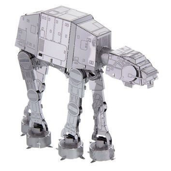 Disney Parks Star Wars AT-AT Metal Model Kit 3D New