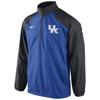 Nike Kentucky Wildcats Lockdown Half-Zip Storm-FIT Performance Jacket - Men