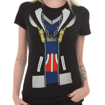 Disney Kingdom Hearts Sora Costume Girls T-Shirt