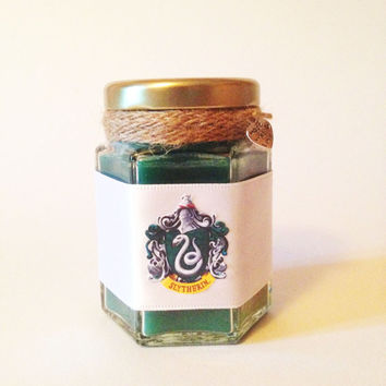 Harry Potter Slytherin Wood Wick Candle