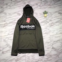 Reebok Woman Men Fashion Hoodie Top Sweater Pullover-3