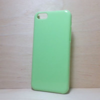 Hard Plastic Case for iphone 5c - Grass Green