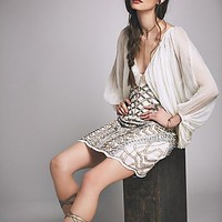 Free People Circe Embellished Mini Dress