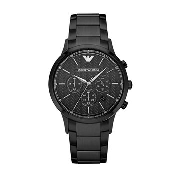 ARMANI WATCH SIGNATURE MEN DRESS STAINLESS STEEL RENATO STAINLESS STEEL AR2485