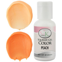 Peach CK Gel Paste Food Coloring