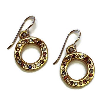 Patricia Locke Jewelry - Ringlet Earrings in Tweed