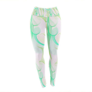 "Alison Coxon ""Swim II"" Yoga Leggings"