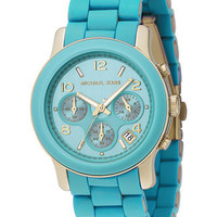 Michael Kors 'Turquoise Catwalk' Chronograph Watch | Nordstrom