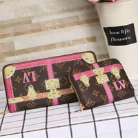 LV TRUNKSUMMERCOLLECTION Series 2018 Summer New Style Wallet F-AGG-CZDL