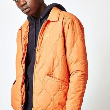 CREYONDI5 OBEY Bulldogs Quilted Jacket