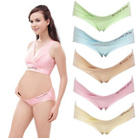 New Fashion Pregnancy Cozy Lingerie Panties Briefs Maternity Low Waist Underwear 5Colors = 1945977988