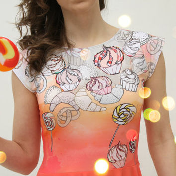 Candy dress by ZIBtextile on Etsy