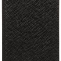 Smythson - Textured-leather passport cover
