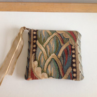 Fabric Patterned Coin Purse