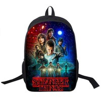 Stranger Things Backpack For Teenage Children School Bags Boy Girls School Backpacks Kids Schoolbag Stranger Things Student Bag