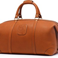 Large Leather Duffel Bag | Cavalier III No. 98 Chestnut | Ghurka