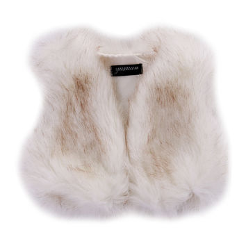 Fashion Baby Girls Toddler Kids Faux Fur Winter Vest Gilet Outerwear Coat Jacket   Vests & Waistcoats