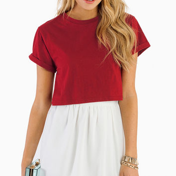 Blank Slate Crop Top - TOBI