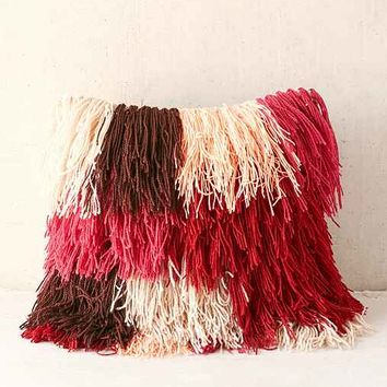Magical Thinking Snuffy Shag Pillow