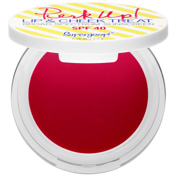 Sephora: Supergoop! : Perk Up! Lip & Cheek Treat Broad Spectrum Sunscreen SPF 40 : lip-sunscreen