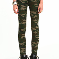 ARMY GIRL SKINNY PANTS
