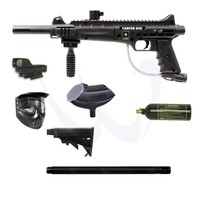 "Tippmann US Army Carver One CQB Paintball Gun Kit 18"" Tactical Barrel - Paintball Store WaveToGo"