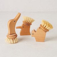 Handcarved Scrub Brush