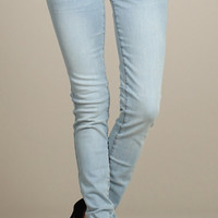 Blue Jean Baby Stretch Denim Skinny Jeggings - Light Wash