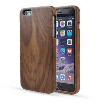 Day-First™ Eco-friendly Natural Wooden Bamboo Case for iPhone
