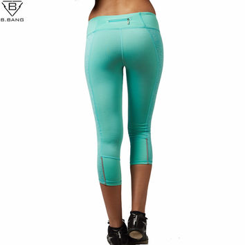 Women Yoga Pants Sport Fitness Tights Slim Leggings Running Sportswear Tights Quick Drying