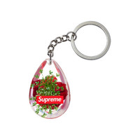 Supreme: Tear Drop Rose Keychain -