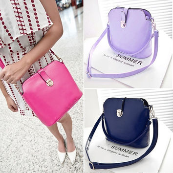 Women PU Leather Shoulder Bags Messenger Bag Cross Body Tote Purse Handbag  7_S = 1905765508