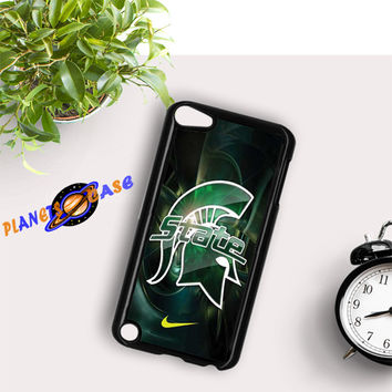 Michigan State nike iPod Touch 6 Case Planetscase.com