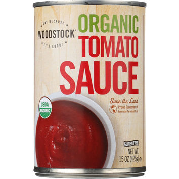 Woodstock Tomato Sauce - Organic - 15 oz - case of 12