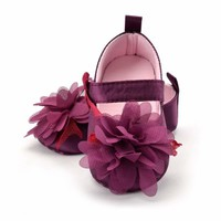 Flower Spring / Autumn Infant Baby Shoes Moccasins Newborn Girls Booties for Newborn 3