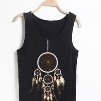 dream catcher Casual Wear Sporty Cool Tank top Funny Tank Cute Direct to garment